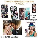 custom-cases Funda Carcasa para Todos los móviles con diseño Foto Gel TPU Personalizada Carcasa con tu Foto Logo Preferido Personaliza para movil iPhone 6S