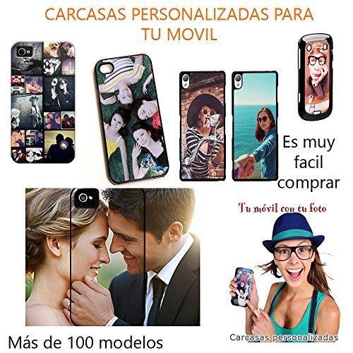 Funda para movil Personalizada Carcasa con tu Foto Logo Preferido Compatible con Samsung Galaxy j7 (2016)
