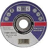 SBS Trennscheiben 115 x 1,0mm INOX Flexscheibe Profi Qulität - 10 Stück