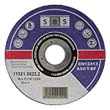 SBS Cutting Discs 115 x 1 mm 100 Pieces | Stainless Steel | for Cut-Off/Angle Grinder