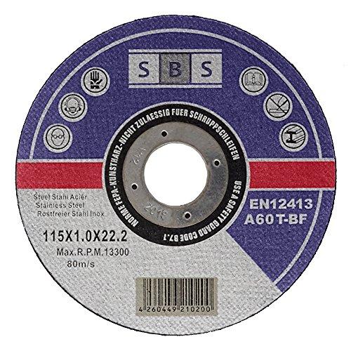 sbs-disco-de-corte-10-unidades-acero-inoxidable-115-x-1-mm