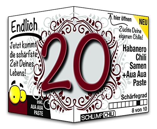 Endlich 20 - Eine tolle Geschenkidee zum 20. Geburtstag und ein witziges Geschenk für Männer und Frauen!