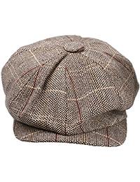 33a30433199 Generic Newsboy Cap Hat Flat Baker Boy Newsboy Gatsby Beret Cap for Men  Ladies