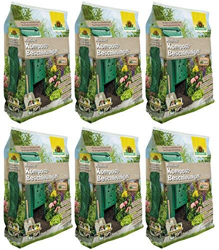 GARDOPIA Sparpaket: 6 x 5 kg Neudorff Radivit Kompost-Beschleuniger