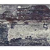 murando - Vlies Fototapete 350x256 cm - Vlies Tapete - Moderne Wanddeko - Design Tapete - Ziegel Ziegelstein f-A-0503-a-c
