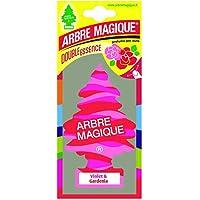 Abremagique 1710548 Désodorisant Arbre Magique Voilet & Gardenia, Pink