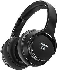 TaoTronics Active Noise Cancelling Kopfhörer 30 Stunden Bluetooth Kopfhörer, Kabelloses ohrumschließendes Headset, dualen 40 mm Treibern Kabellose Kopfhörer mit Tiefem Bass und Mikrofon