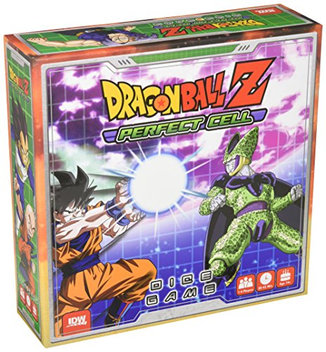 """IDW Games IDW01421 """"Dragonball Z Perfect Cell"""" Board Game"""