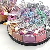 Generic 24 Colours Glitter Eyeshadow Powder Palette (Dark Smokey)