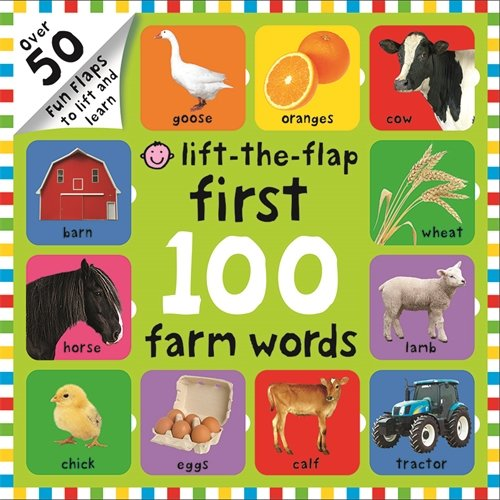Farm Words (First 100 Lift the Flap)