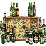 Bier-Adventskalender, 24 Biere aus aller Welt, inkl. Geschenkbox (24 x 0.33 l)