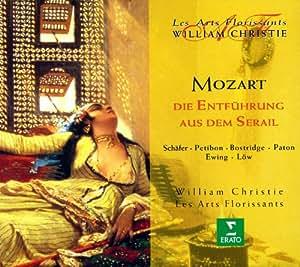 Mozart - Die Entführung aus dem Serail / Schäfer . Petibon . Bostridge . Paton . Ewing . Löw . Les Arts Florissants . Christie