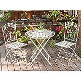 Tavolo Giardino Ferro Bianco.Salotto Da Giardino Bianco 3 Pezzi Qual E Il Migliore