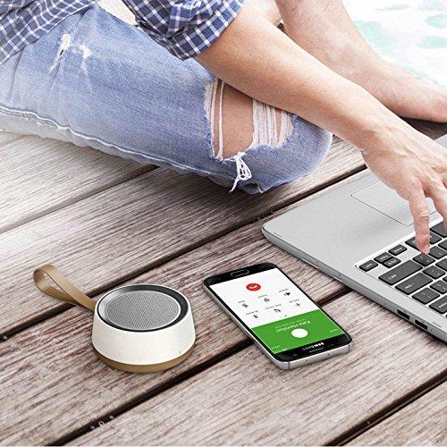 Samsung Wireless Speaker Scoop Design Bluetooth 4.0 (Brown/White)
