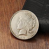 Bluelover 1922 La Paz Libertad Batman Dos Caras Moneda Imitación Copia Recoger Moneda