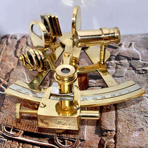 10.2 cm Collectable German Navy Work Instrument Sextant by nauticalmart