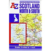 Scotland Road Map (A-Z Road Maps & Atlases)