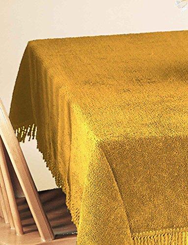 100% reine Baumwolle Chenille Tischhussen von Diana Cowpe