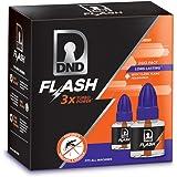 DND Flash Refill Dual Pack Mosquito Repellent Liquid Vaporiser ( Pack of 2)