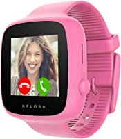 XPLORA GO - Telefon Uhr für Kinder (SIM-frei) - Anrufe, Nachrichten, Schulmodus, SOS-Funktion, GPS-Standort, Kamera und...