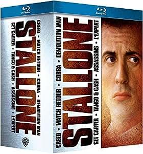 Stallone: Creed + Cobra + Demolition Man + Match retour + Tango & Cash + Assassins + L'expert [Blu-ray]