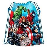 Avengers Marvel Kinder Sportbeutel Turnbeutel 42cm Turnschuhbeutel für Jungen
