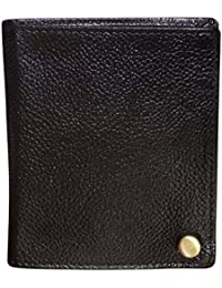 Style98 Unisex Black Leather Wallet||Card Holder||Card Case||Visiting Card Holder||Credit Card Case||Buisness...