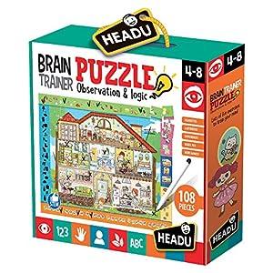 Headu- Brain-Trainer Puzzle, Juego Infant, Multicolor (IT21154) , color, modelo surtido