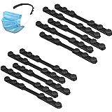 Siliconen Masker Band Vergroter met Knoppen, 10st Verstelbare Anti-Slip Masker Vergroter, Verlicht Oorpijn, Anti-Aanscherping