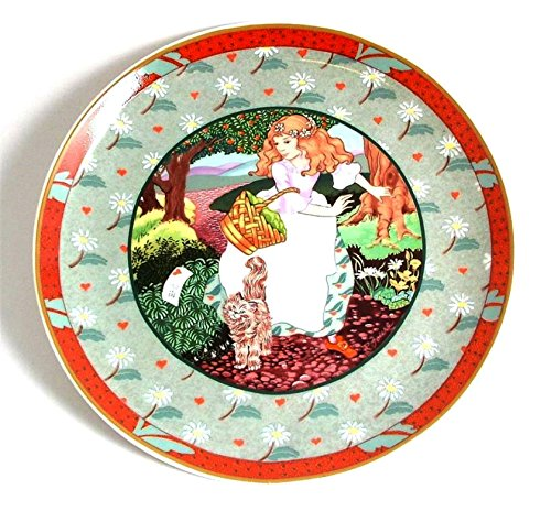 Heinrich Villeroy and Boch once upon a Rhyme Collection a Tisket a Tasket CP2