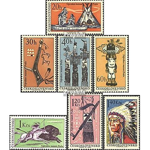 Cecoslovacchia 1629-1635 (completa.Problema.) 1966 Indiani (Francobolli )