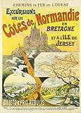 World of Art Vintage-Poster, Reisemotiv Frankreich für