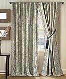 #10: Deco Window 4 Piece Curtain Galaxy Light Sea Foam 46