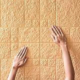 Adesivo da parete Autoadesivo 3d Da Parete Tridimensionale Schiuma Isolamento Acustico Isolante Anti-collisione Impermeabile Morbido Pacchetto Soffitto Personalità Decorazione 0,77X0,69M C