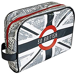 Cosmetic Travel Bag Cosmetic Case-shiny PVC-SO BRITISH