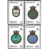 Gibraltar 465-468 (completa.edición.) 1983 Ship Crest (sellos para los coleccionistas)