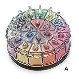 Challeng Lidschatten-Palette, Schimmern Funkeln Bilden Pulver Kosmetik Makeup Augenschatten Palette/20 Farben (A)