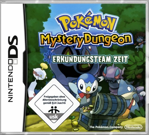 Pokémon Mystery Dungeon: Erkundungsteam Zeit [Software Pyramide] Pokemon Ds Spiele Mystery Dungeon