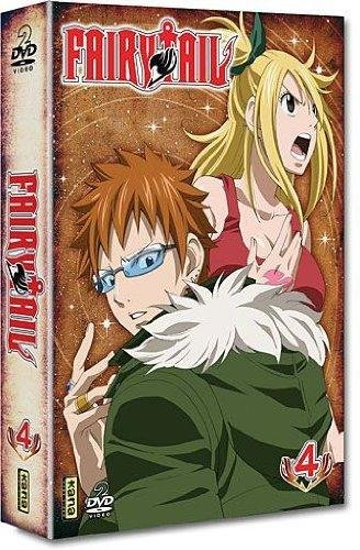 DVD Fairy Tail : Coffret 2 DVD Vol 4 [Edizione: Francia]