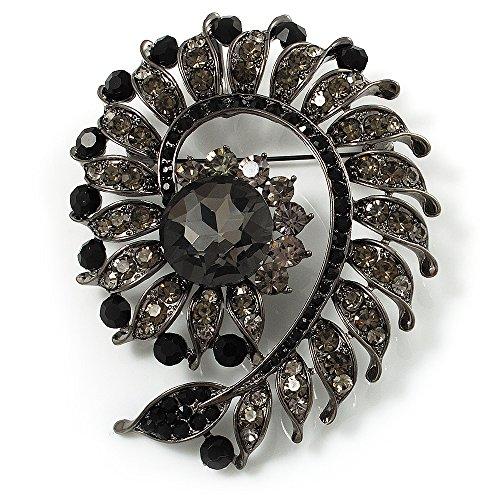 oltre-dimensionale-girella-spilla-ciondolo-con-ardesia-grigio-strass-canon-bronzo