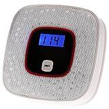 KKmoon Rilevatore di CO Monossido di Carbonio Allarme LCD Avvelenamento Gas Sensore Attenzione...