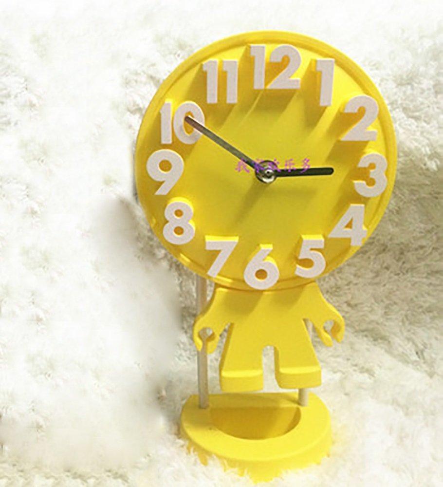 Amazonde NAUY 6 Zoll Kreative Persnlichkeit Wohnzimmertisch Uhr Mode Moderne