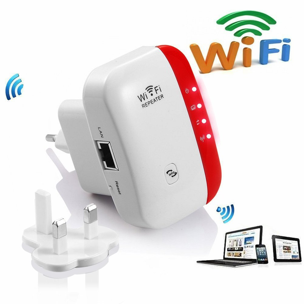 300M WiFi Range Extender Booster Amplifier WiFi Repeater 2 ...