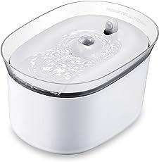 HoneyGuaridan Smart Distributore automatico della fontana dell'acqua dell'animale domestico con induzione ad infrarossi, Fontanella per Cani e Gatti - Confezione da 3 filtri al carbone attivo