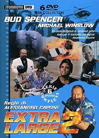 Bud Spencer Extra Large 2 Collection - 6-DVD Box Set (ITA) ( Il signore del sole / Indians / Operazione Condor / Pioggia di diamanti / L'ombra del guerriero / Doppio Inganno ) ( Lo [ Origine Italienne, Sans Langue Francaise ]
