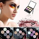 Generic Waterproof Eye Shimmer Eyeshadow Palette 3 Patterns # 21740(3#)