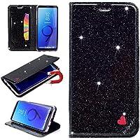 Sycode Galaxy S9 Glitzer Schutzhülle,Flip Hülle für Samsung S9,Luxus Noble Bling Glitter {Be Loved} Herz Entwurf... preisvergleich bei billige-tabletten.eu