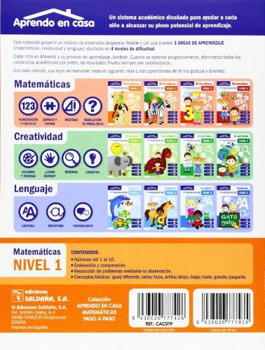 Matemáticas Paso A Paso. Nivel 1 leer libros online gratis