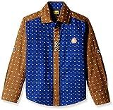 Seals Boys' Shirt (D1926_Brown_10 - 11 y...