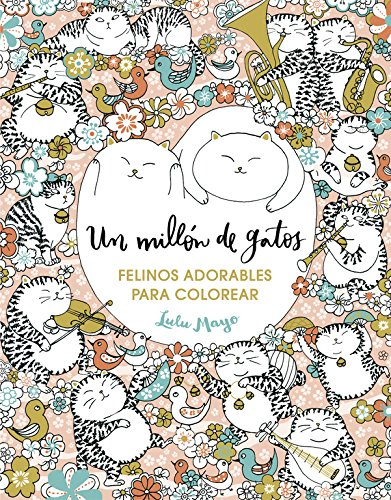 un-millon-de-gatos-felinos-adorables-para-colorear-libro-de-colorear-para-adultos